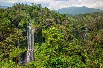 Sekumpul Wasserfälle in Bali, IndonesienSekumpul Wasserfälle in Bali, Indonesien von Tjeerd Kruse