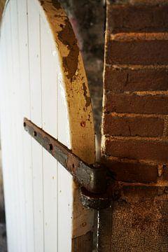 Deel van een deur in urban style van Jeffry Clemens
