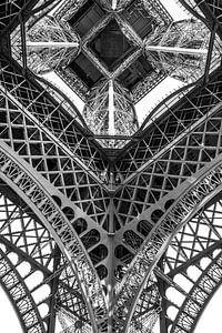 Eiffeltoren van onderaf van