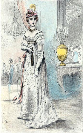 Mode 1819, Mode in het negentiende-eeuwse Parijs, Henri Boutet, (1851 1919) van Liszt Collection
