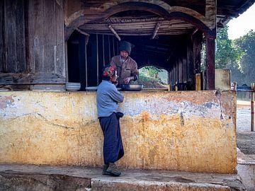 Myanmar - Kalaw - Barman van Rik Pijnenburg