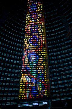La cathédrale de Rio de Janeiro, au Brésil. sur Kees van Dun