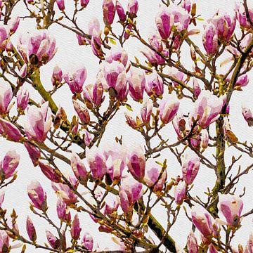 Magnolia 2020 van Andreas Wemmje