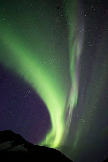 Noorderlicht, Poollicht ofwel Aurora Borealis van Capture The Mountains