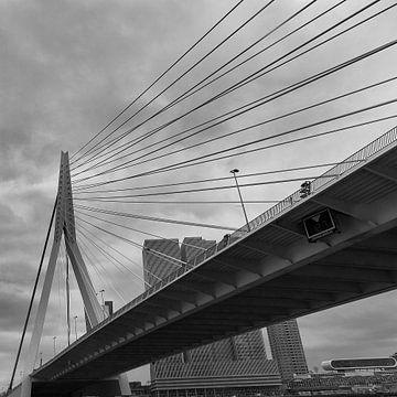 Erasmusbrug Rotterdam van Ellen van Schravendijk