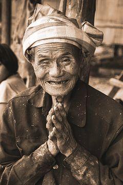Thailändischer Reisbauer von Peter Zendman