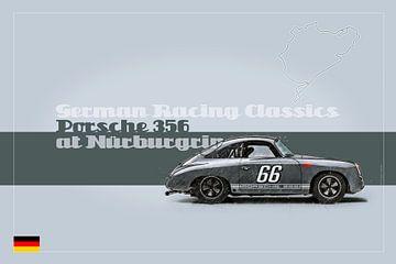 Porsche 356 at Nürburgring von Theodor Decker