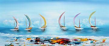 Fantasy Sailing sur Gena Theheartofart