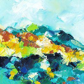 Blue Mountains von Maria Kitano