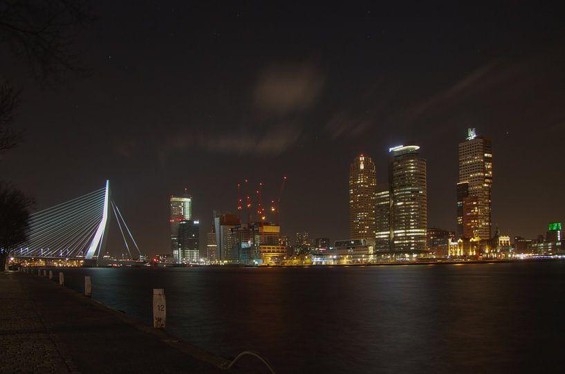 Rotterdam by night van Richard Driessen