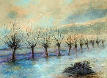 Winter in Nederland. van Ineke de Rijk