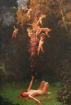 Das Mädchen hat einen Sommertraum, Leopold Schmutzler. von Atelier Liesjes