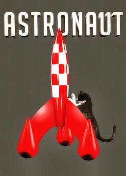 Katten: Astronaut van Jan Keteleer