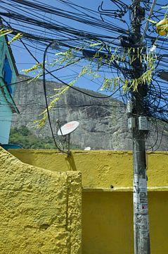 Favela Rocinha, Rio de Janeiro van Kees van Dun