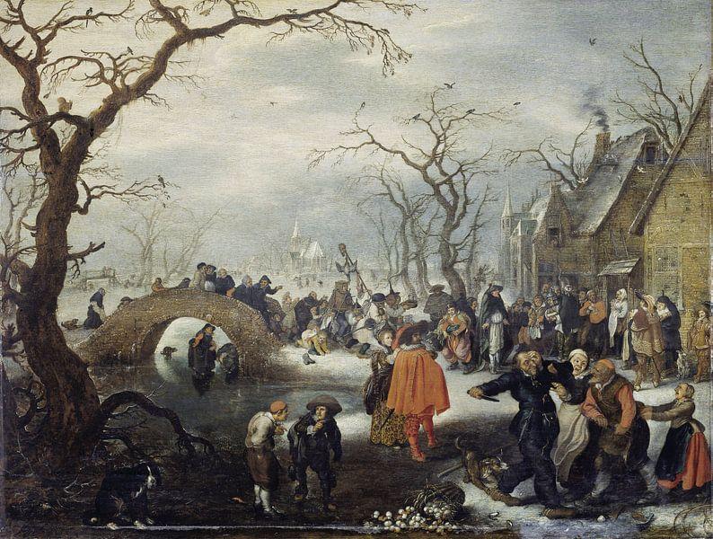 Boerenvastenavond, Adriaen Pietersz. van de Venne. von Meesterlijcke Meesters