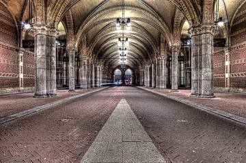Tunneltje onder rijksmuseum van Wouter Sikkema