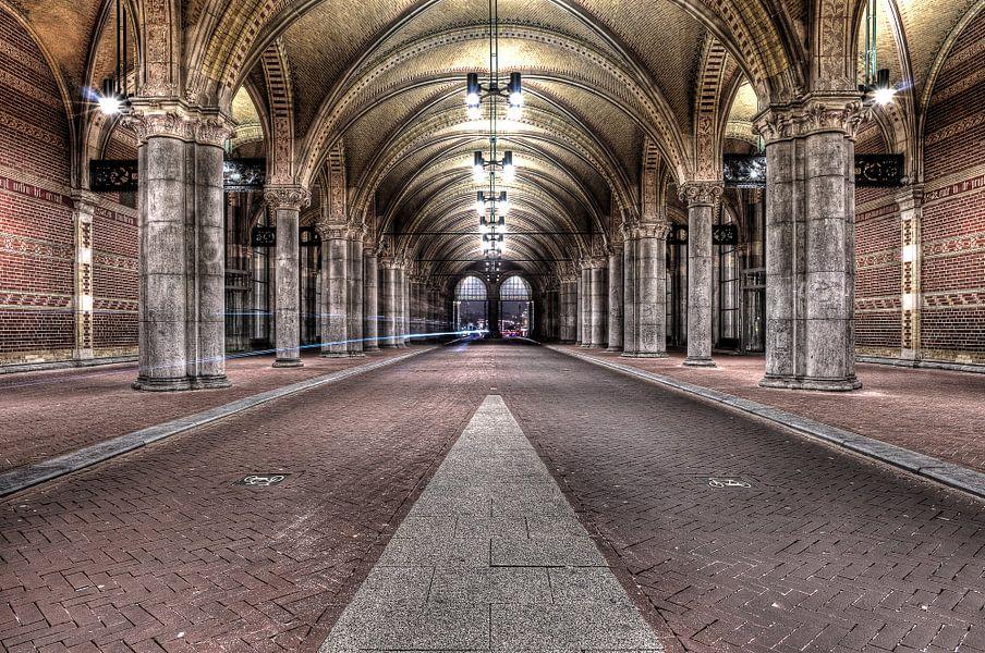 Tunneltje onder rijksmuseum