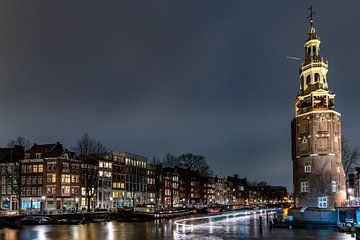 Montelbaanstoren Amsterdam von Rene Siebring