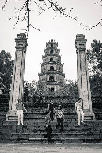 Thien Mu Pagoda in Hué, Vietnam