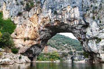 Pont d'Arc in de Gorges de l'Ardèche van Martijn Joosse
