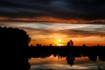 Sonnenuntergang von gisela merkuur