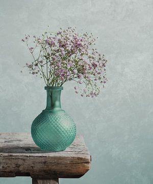 Schleierkraut in einer Vase von Mariska Vereijken