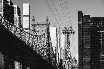 New York - Queensboro Bridge (noir et blanc) sur Sascha Kilmer