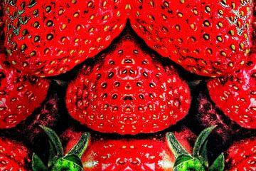 Verbotene Früchte (Schlafzimmer-Erdbeeren) von Ruben van Gogh