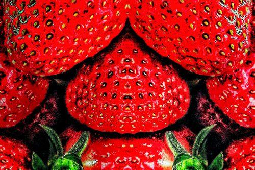 Verboden fruit (slaapkamer-aardbeien)