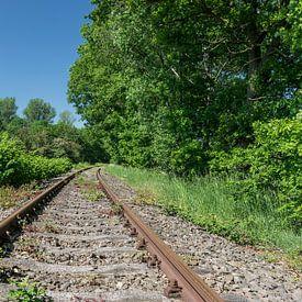 Verlassene Eisenbahnstrecke von Patrick Verhoef