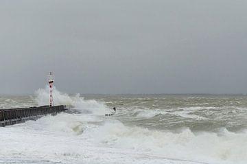 Tempête en mer sur Ans Bastiaanssen