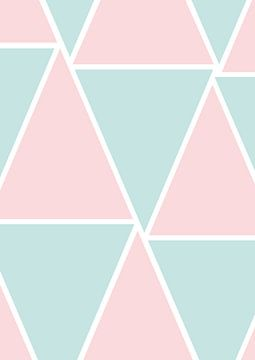 Geometrische vormen van Aukelien Minnema