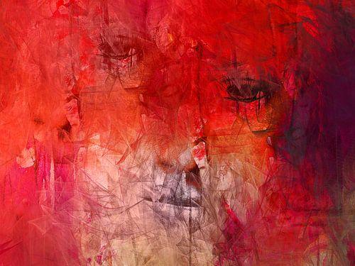 Two different eyes van Gabi Hampe