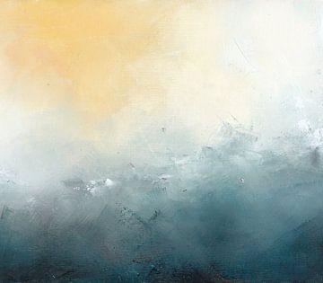 Gefrorene Landschaft 5 von Maria Kitano