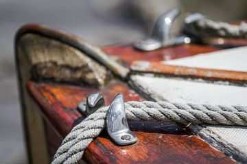 Vieux voilier en bois
