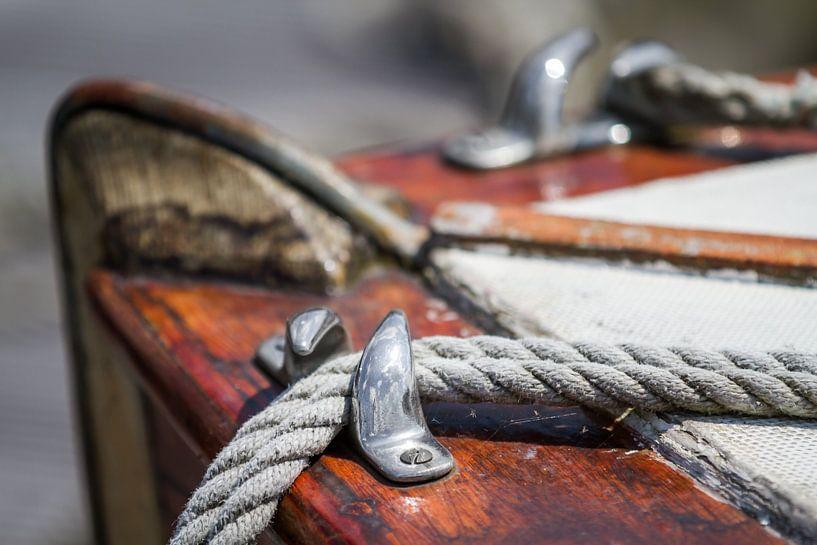 Vieux voilier en bois sur Jan van Dasler