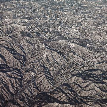 Besneeuwde bergen van Marcel Out
