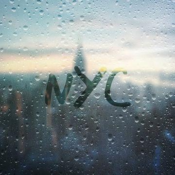 Regenachtige dag in NYC van Christine aka stine1