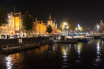Centraal station Amsterdam van