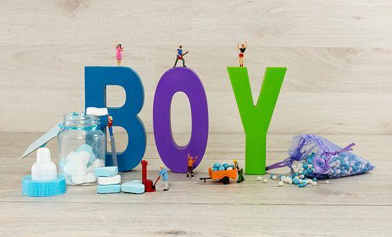 het is een jongen