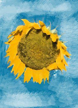 zonnebloem van Ansjejoanna van Iersel