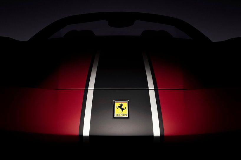 Ferrari 488 Spider van Thomas Boudewijn
