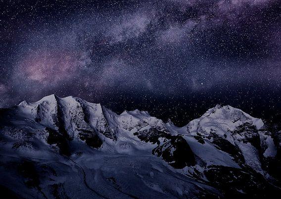 Milky Way in the Bernina Alps