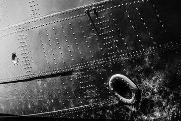 Detail eines Schiffes von Bart Rondeel