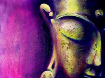 Buddha - The Magenta One von Michael Ladenthin