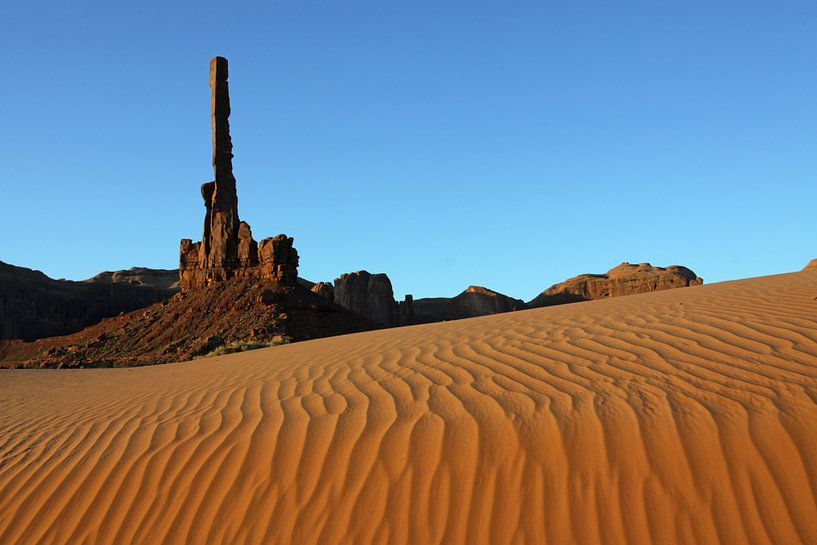 Monument Valley van Antwan Janssen