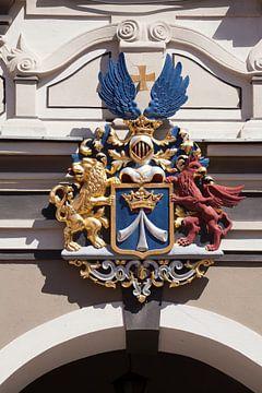 Stralsund :  Stralsunder Wappen, am Rathaus von Torsten Krüger