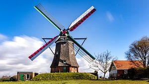 Moulin de Zélande le Blazekop sur Fotografie in Zeeland