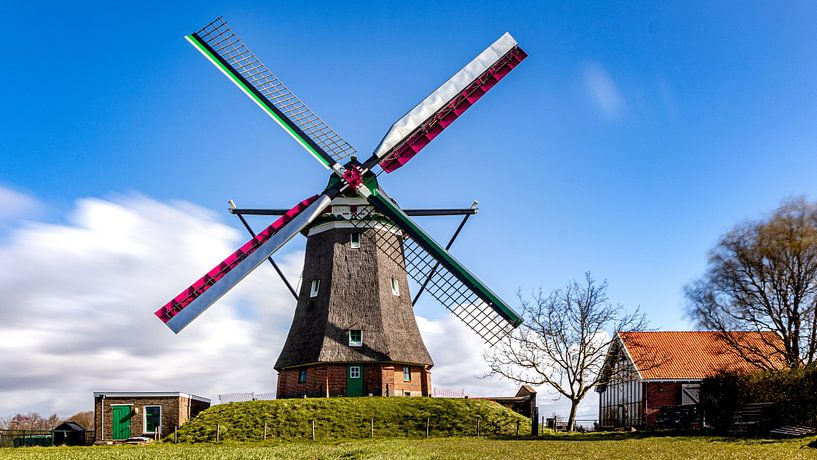 Zeeuwse molen de Blazekop van Fotografie in Zeeland