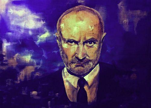 Phil Collins Impressionismus Pop Art  Pur 1 van Felix von Altersheim